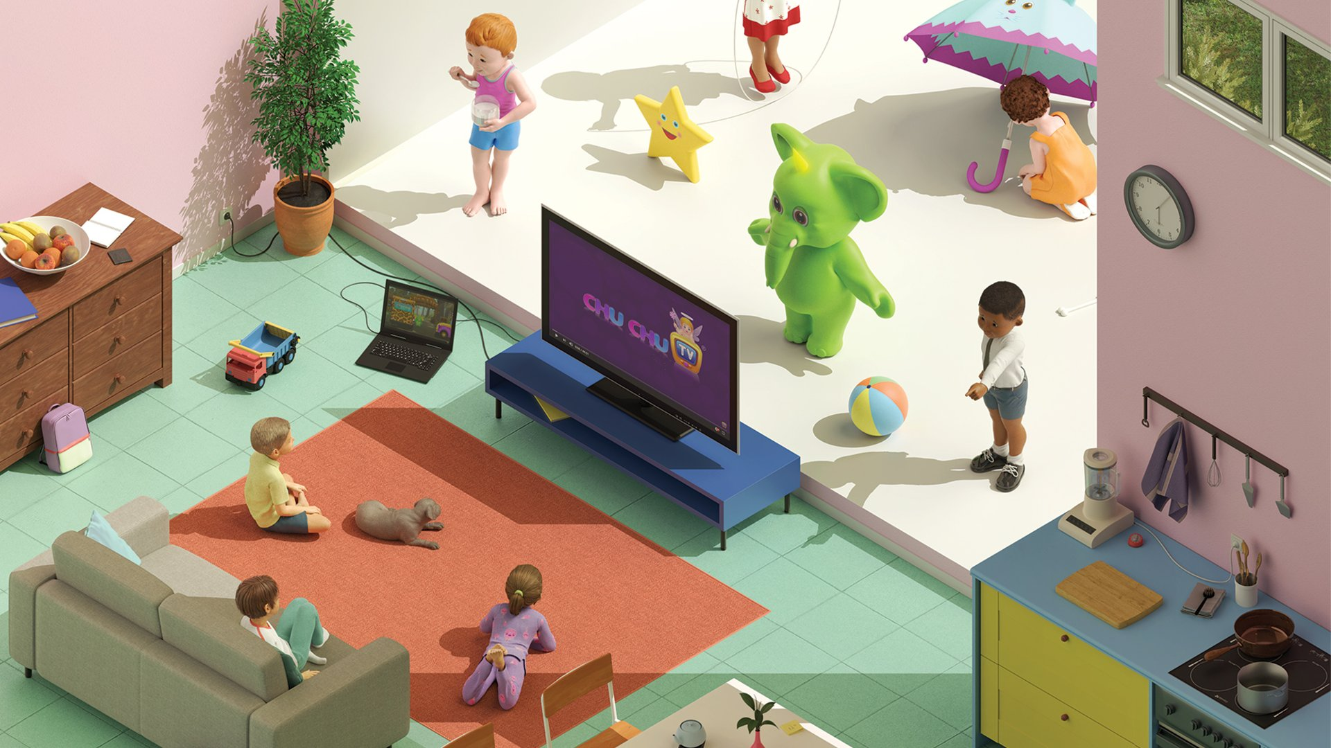 A Look At Chuchu Tv The Chennai Based Youtube Channel For Kids With 19b Views And 29m