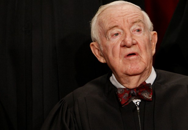 tells  john paul stevens   abolish  death penalty  atlantic