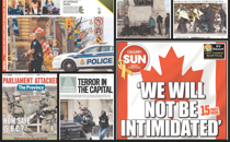 How Canada's Newspapers Reported the Ottawa Shooting