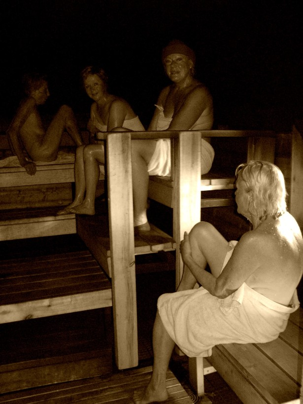 Networking Naked With Finlands Diplomatic Sauna Society