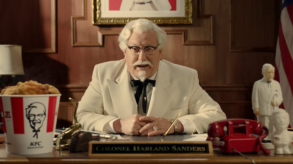 Who plays colonel sanders commercial butik work