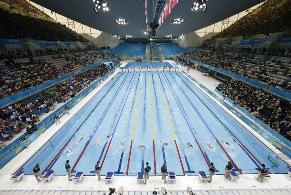 53 olympic swimming pools of semen daily - Olympic Swimming Pool Top View