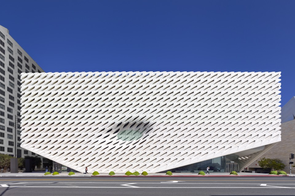 Inside the broad l a 39 s new contemporary art museum for Los angeles architecture