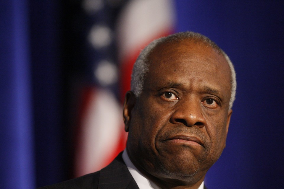 Justice Clarence Thomas stuns; breaks 10-year silence on the bench
