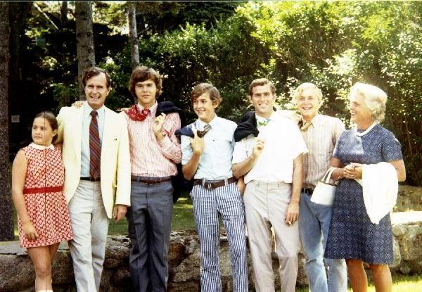 The Bush Family Throughout The Decades