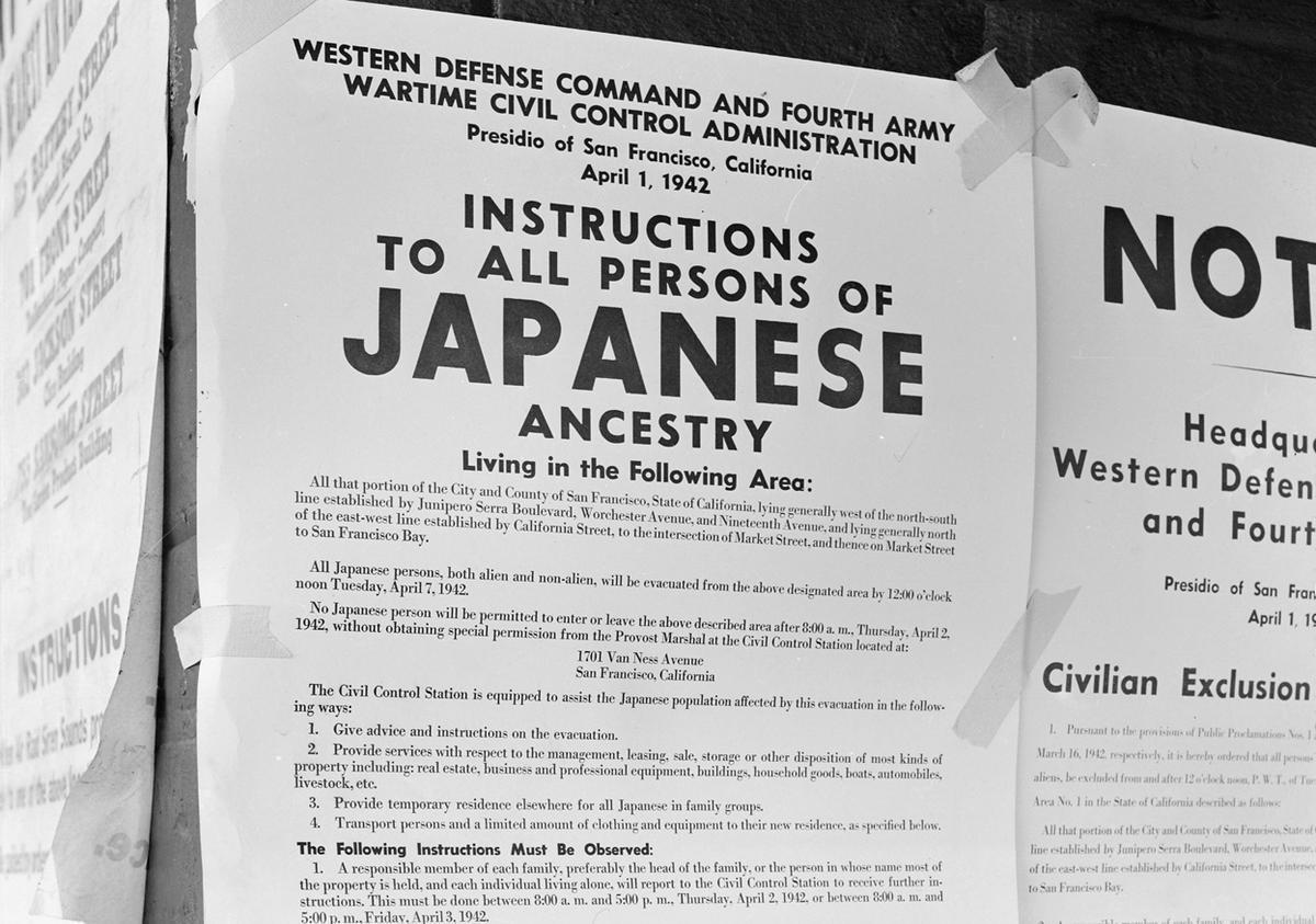 Persuasive Essay Japanese Internment Camps