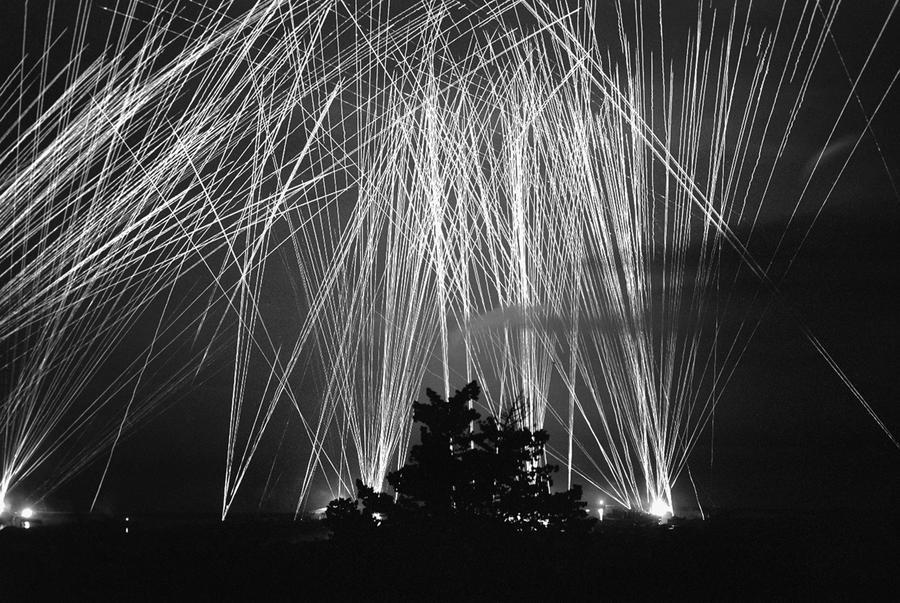 Anti-aircraft Gunfire This Pattern of Anti-aircraft