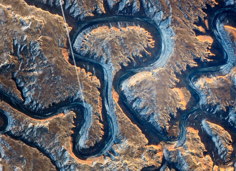 Bowknot Bend Utah as Bowknot Bend Because of