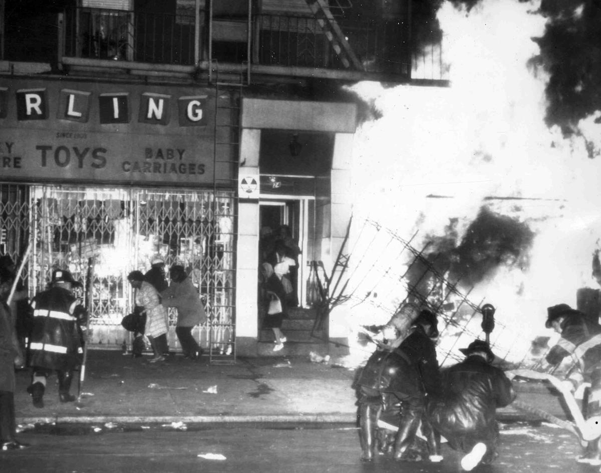 Image result for dr king riots