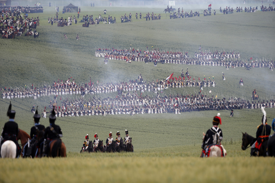 essay on the battle of waterloo