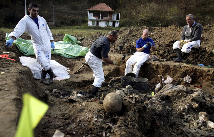 Search For Human Remains