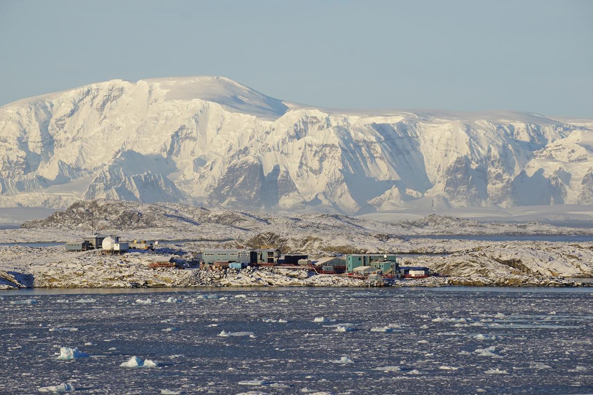 Un viaje a la Antártida