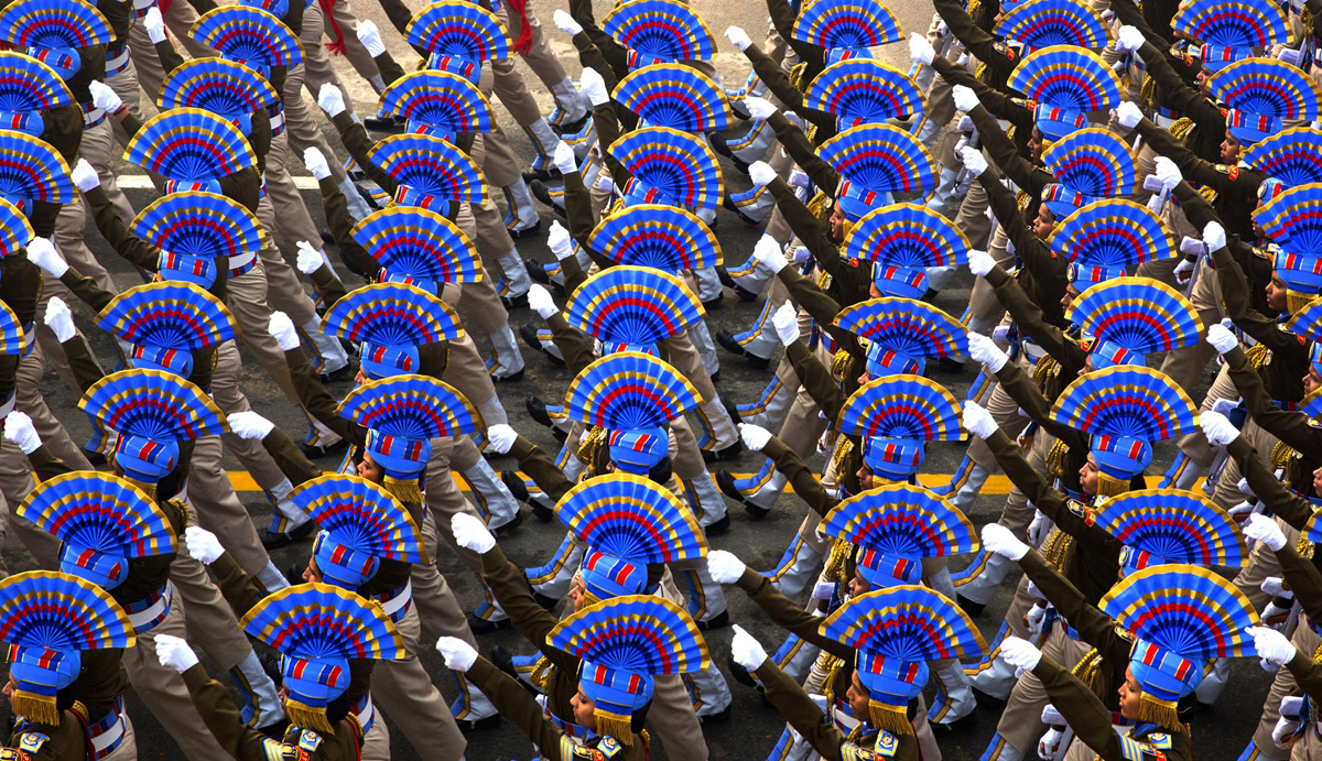 印度某安全部隊