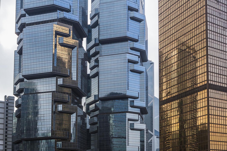 Lippo Towers, Admiralty District, Hong Kong City; Jose Fuste Raga [1500 x 1000]