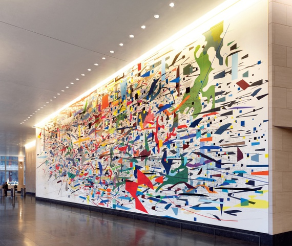The everyday magnificence of new york city 39 s murals the for Mural for school