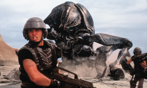 Screenshot from STARSHIP TROOPERS