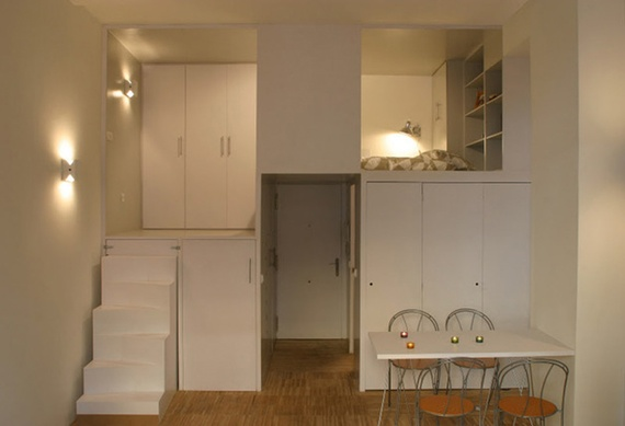 The health risks of small apartments the atlantic for Super small apartment