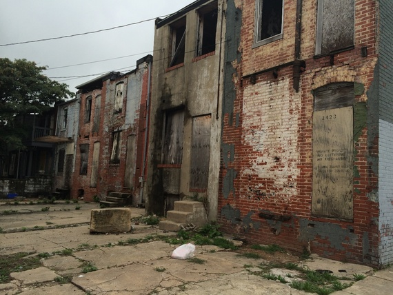 Could Baltimore S 16 000 Vacant Houses Shelter The City S