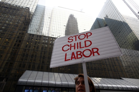 child labour in the world today essays The international labour organization (ilo) launched the world day against  child labour in 2002 to focus attention on the global extent of child labour and  the.