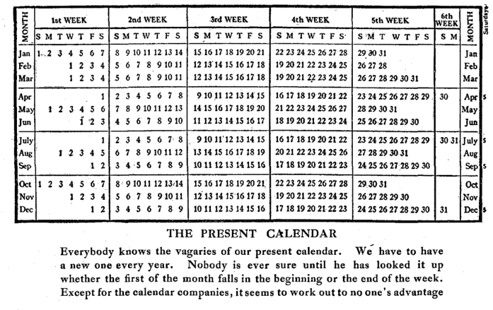 The Death and Life of the 13-Month Calendar - CityLab