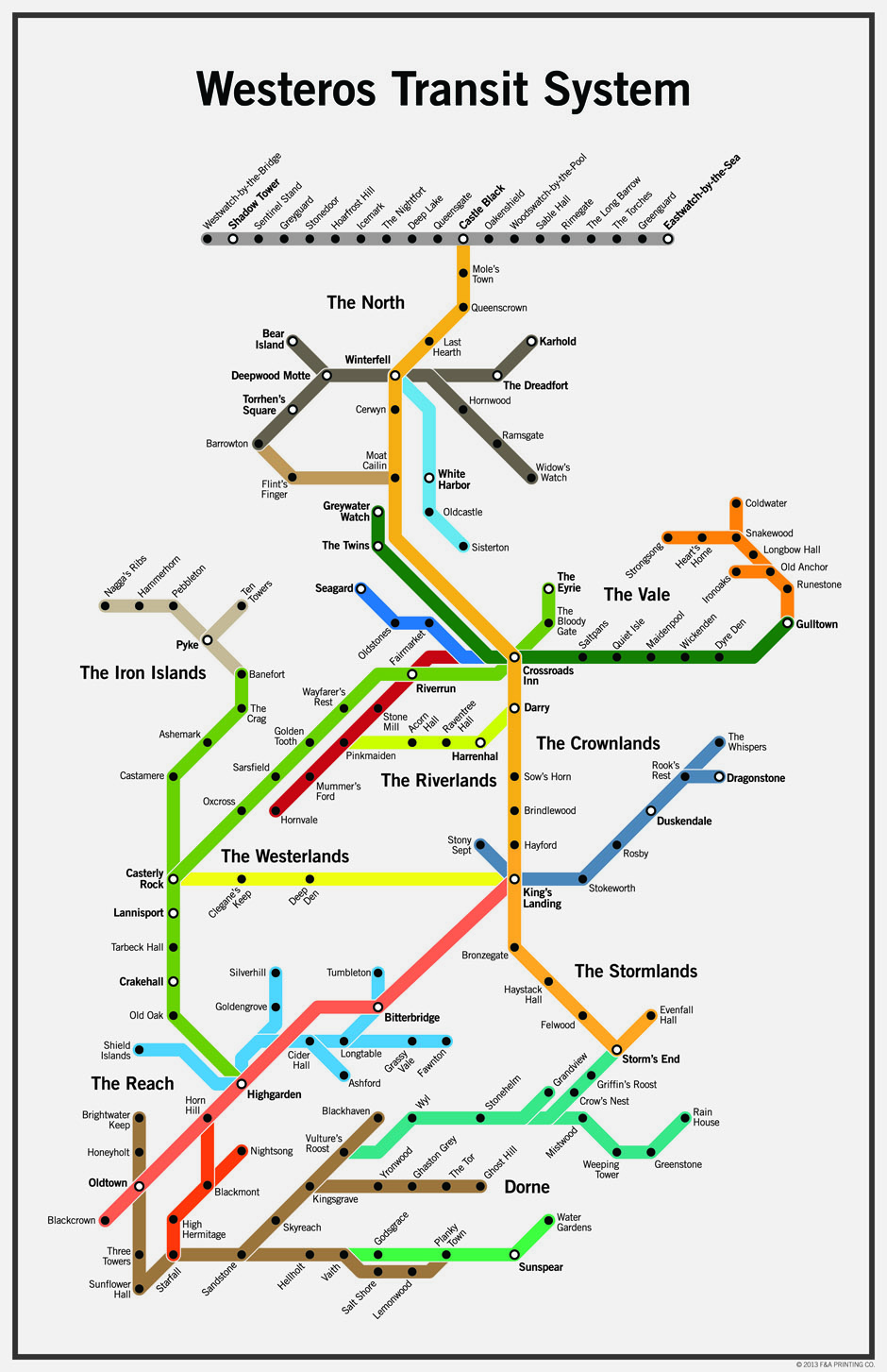 Game of Thrones Could Really Use a Public Transit System