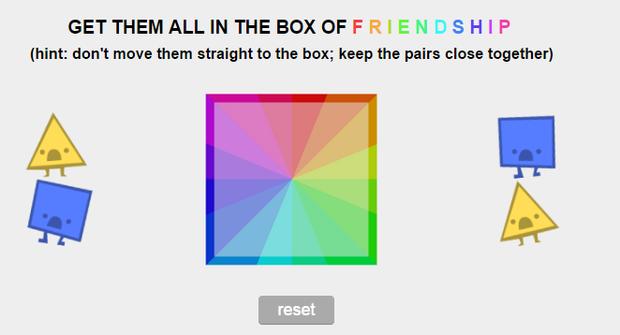 Square Triangle Game Triangles Versus Squares