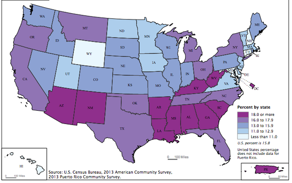 How Obama Has Left Red States Deeper In The Red State Local - Map of us red states blue states