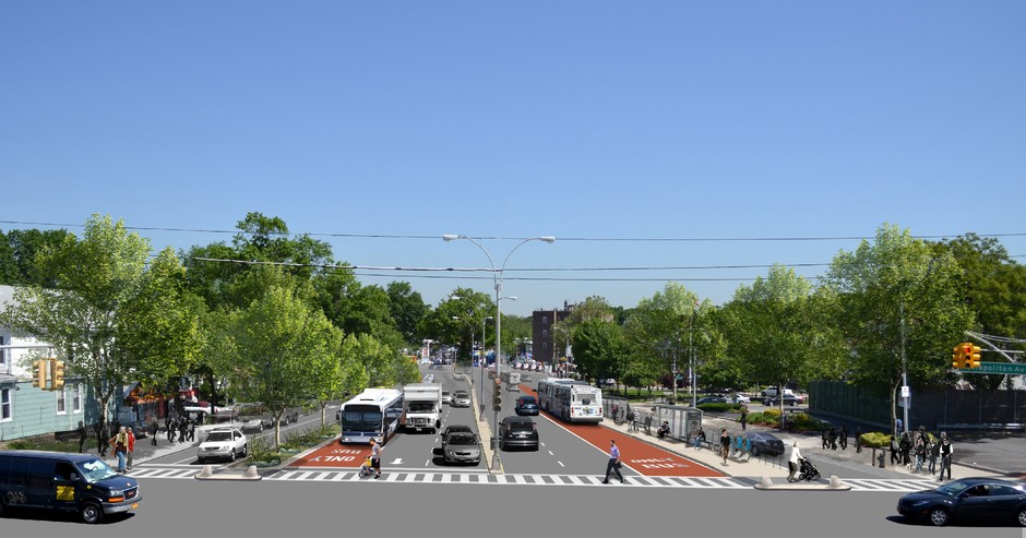 New York City Rolls Out Its Best Bus Corridor Design Yet
