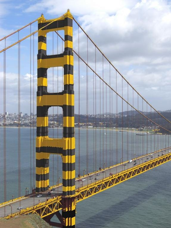 The Never Ending Job Of Painting The Golden Gate Bridge