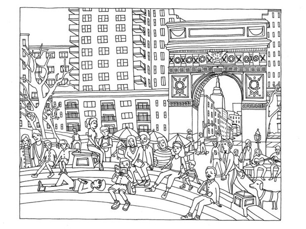Infrastructure Related Coloring Books For The Urbanist In Your Life Citylab