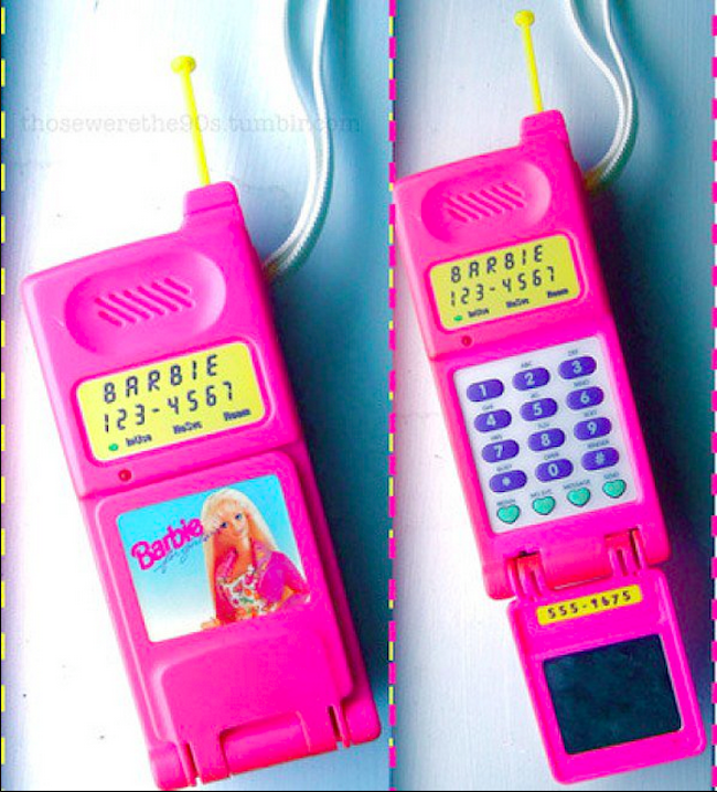 Barbie Toy Phone : When dumb phones were cool a visual history the atlantic