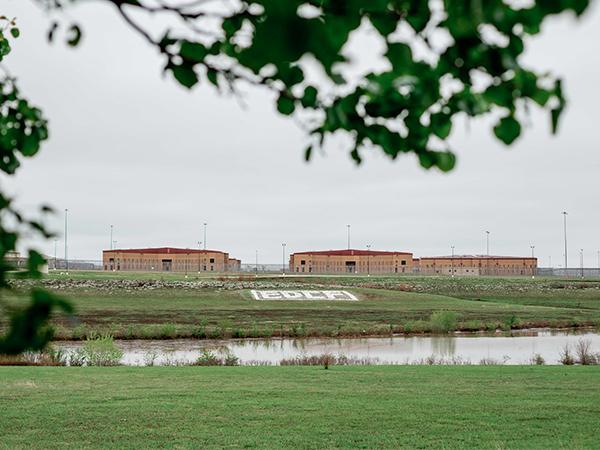 Maximum-security El Dorado Correctional Facility (EDCF) in rural El Dorado, Kansas