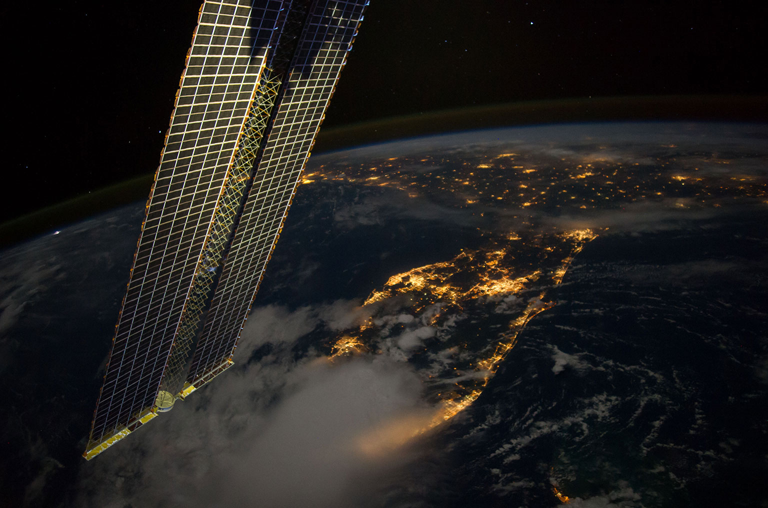 US astronauts haunting images of burning Twin Towers