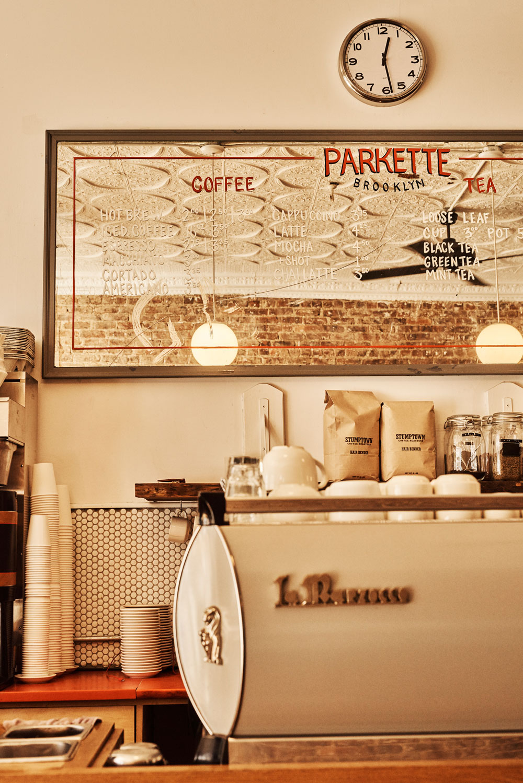 Parkette's fantastic barista bar