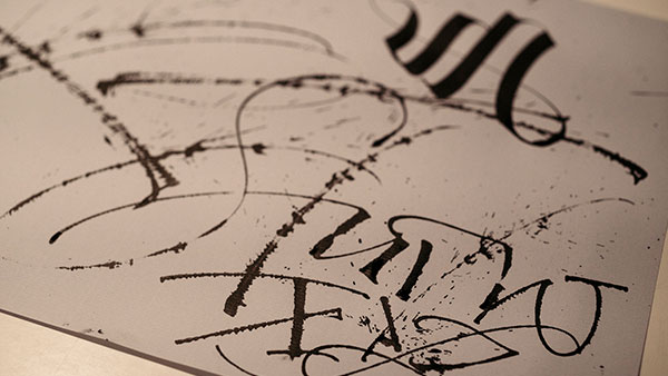 Emotional Lines In Art : The british impact colophon foundry and typography