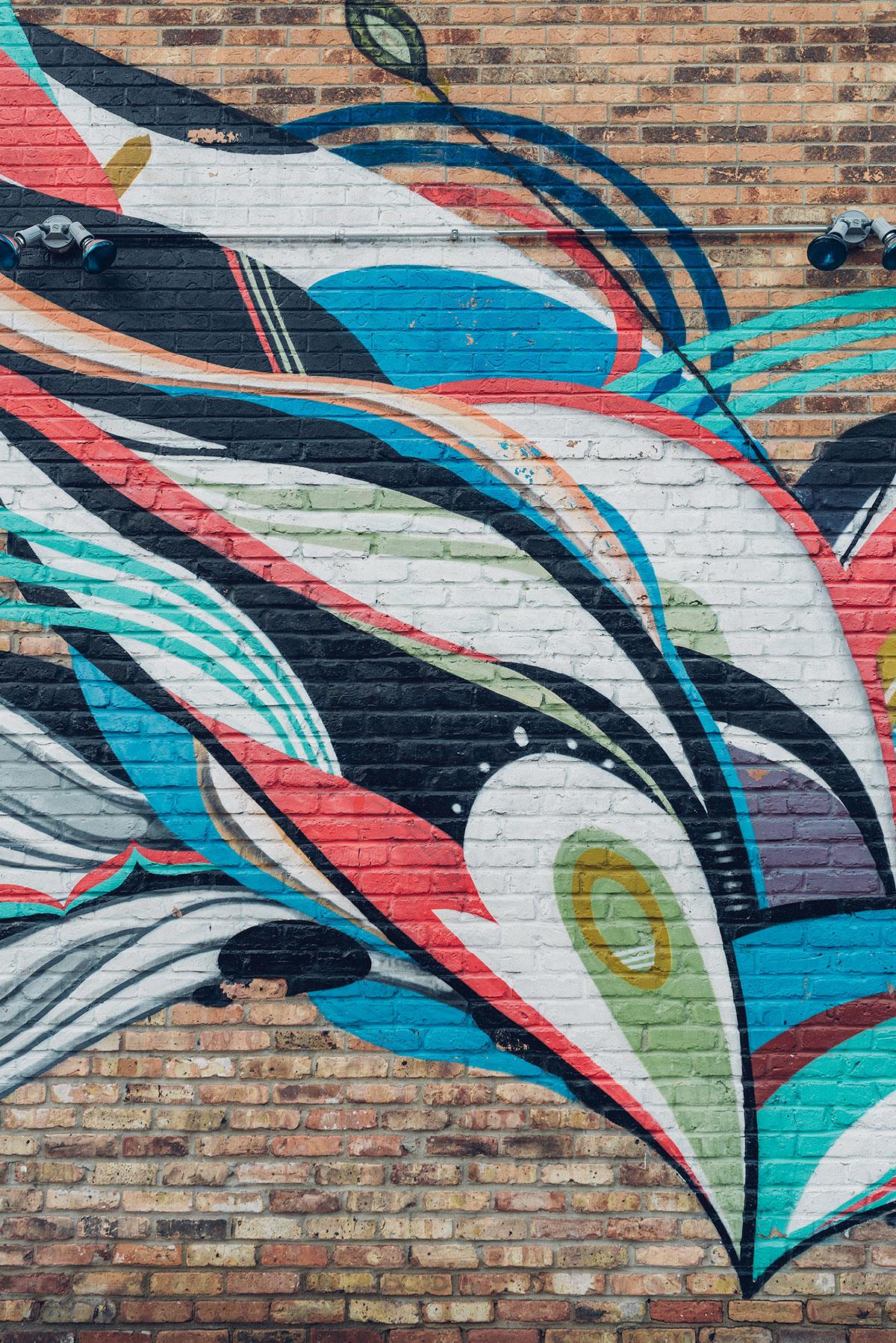Bright Pilsen mural art