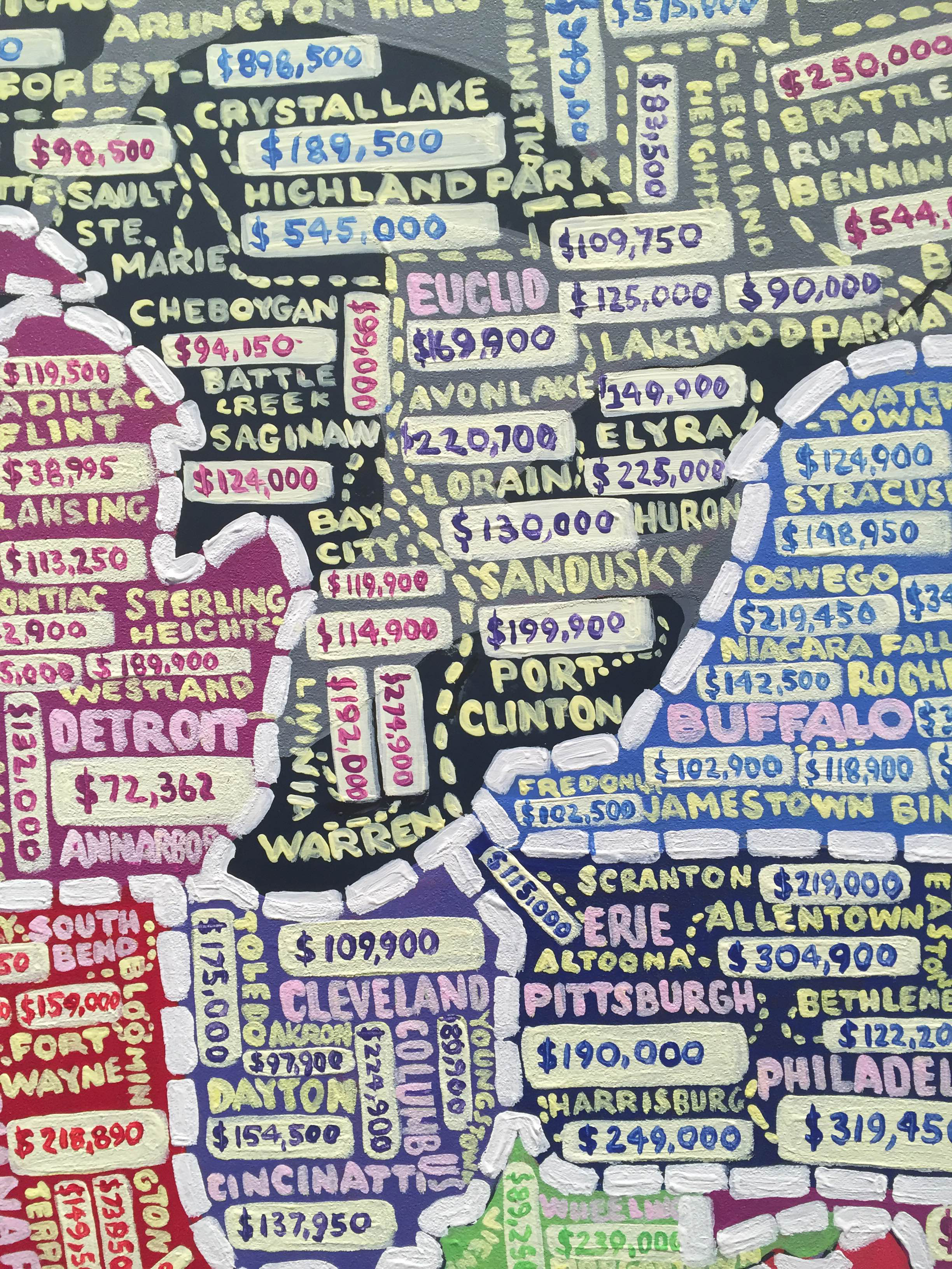 Paula Scher's Hand-Painted, Semi-Accurate Maps of America - CityLab