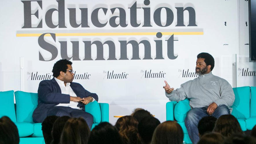 Principal Sharif El-Mekki at The Atlantic's Education Summit