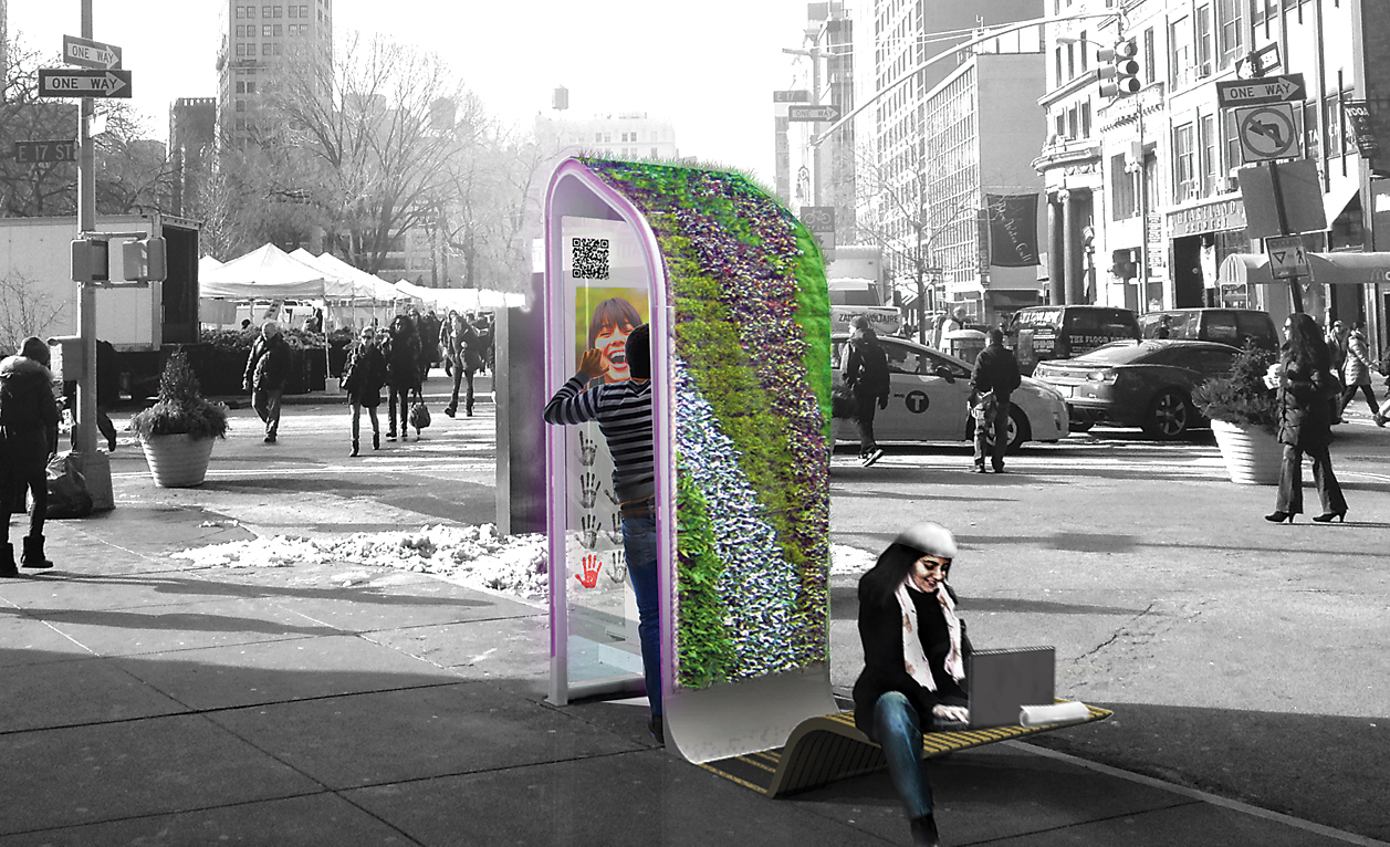 How New York Is Reinventing The Phone Booth The Atlantic