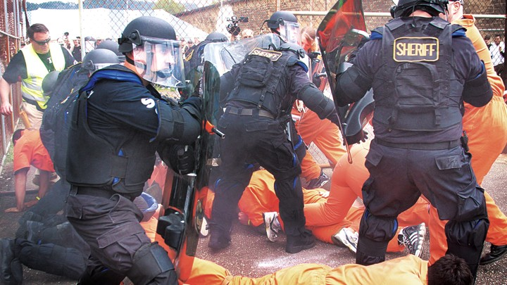Why Are Prison Riots Declining While Prison Populations
