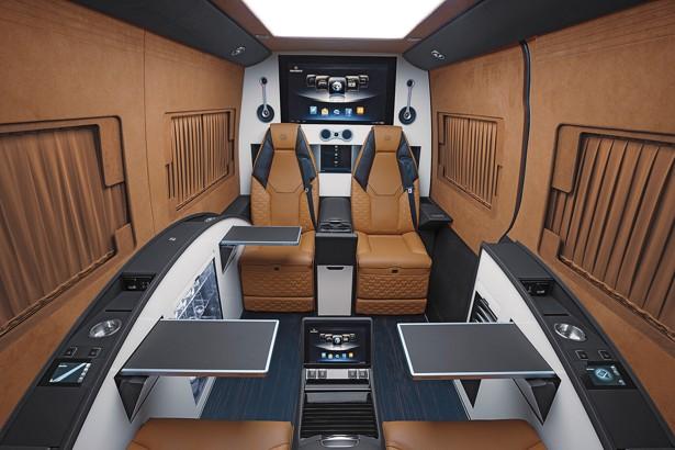 Sprinter 2018 Interior >> Moscow: Minivans for Minigarchs - The Atlantic