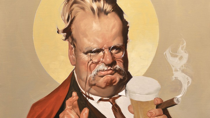 Image result for G.K. Chesterton