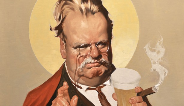 """science and g k chesterton The reactionary the charming, sinister g k chesterton (""""there came a sound like that of mr g k chesterton falling onto a a world-class climate-science."""