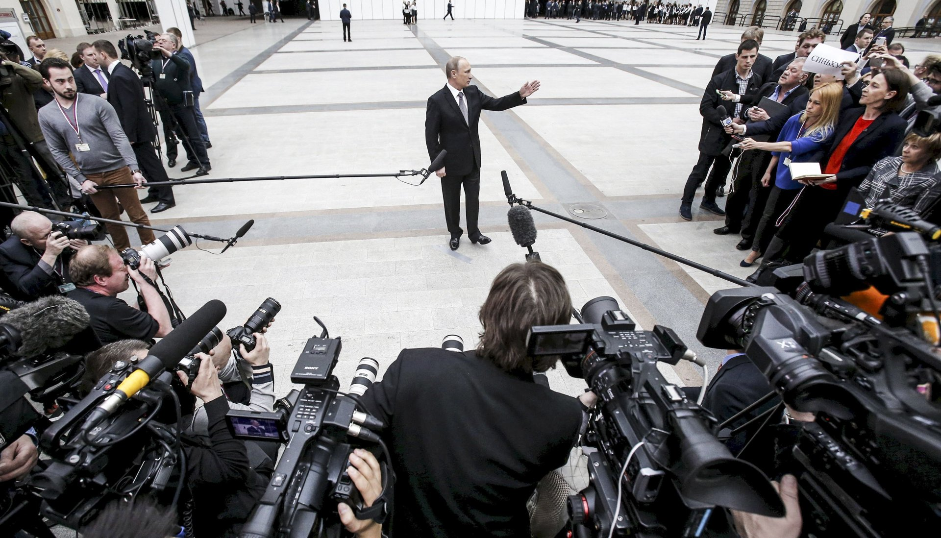Sometimes Single Voice Is Most Powerful >> How The Media Became One Of Vladimir Putin S Most Powerful Weapons