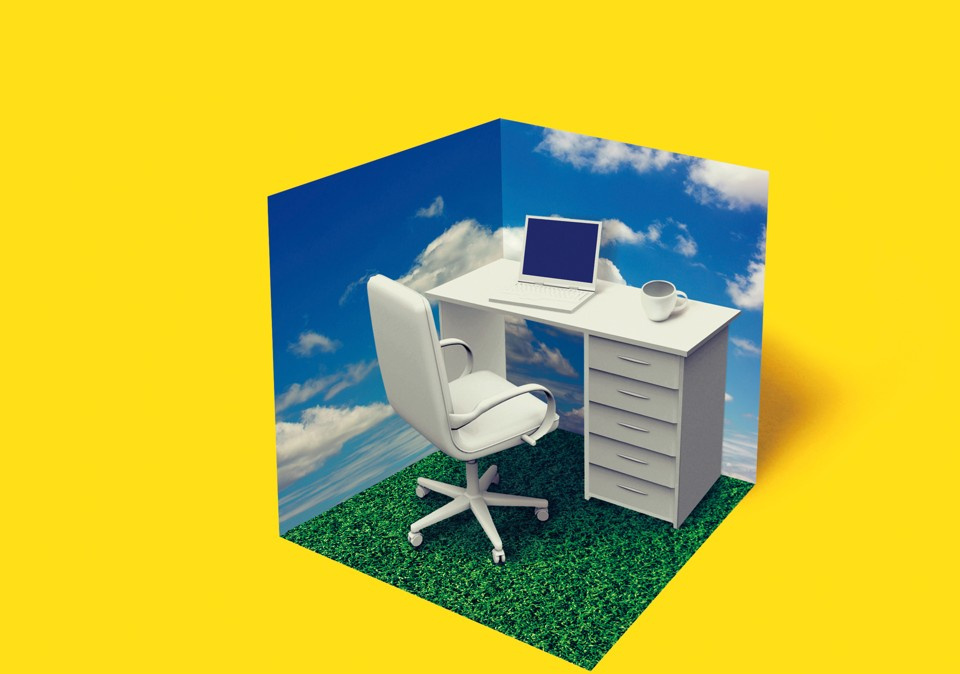 lvaro domnguez the atlantic band office cubicle