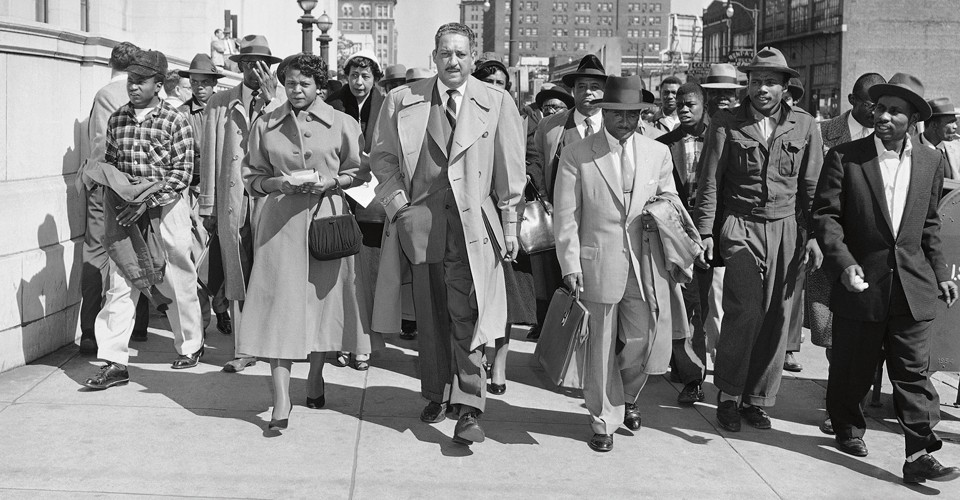 thurgood marshall supreme court nomination and confirmation Fifty years ago today, august 30, 1967, thurgood marshall's nomination to the  us supreme court was confirmed by the senate, making him.