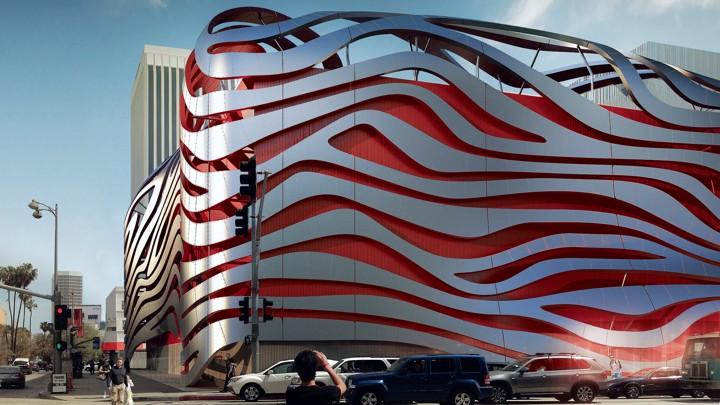 A Rendering Of The Petersen Automative Museum In Los AngelesKohn Pedersen  Fox Associates