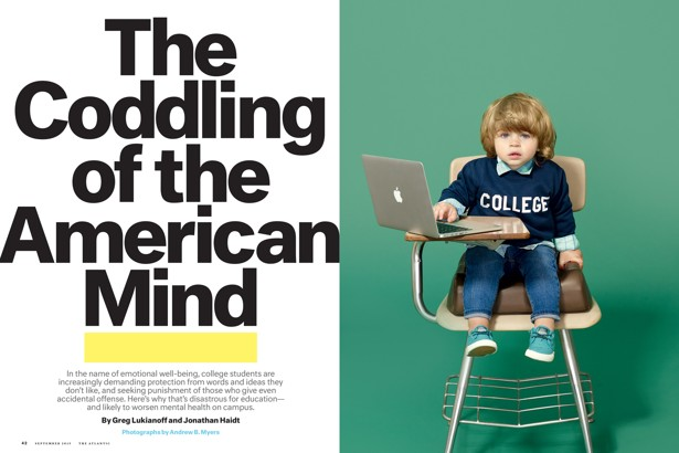 an analysis of the coddling of the american mind by greg lukianoff and jonathan haidt On this week's episode of my podcast, i have to ask, i spoke to jonathan haidt, the co-author, with greg lukianoff, of the coddling of the american mind: how good intentions and bad ideas are.