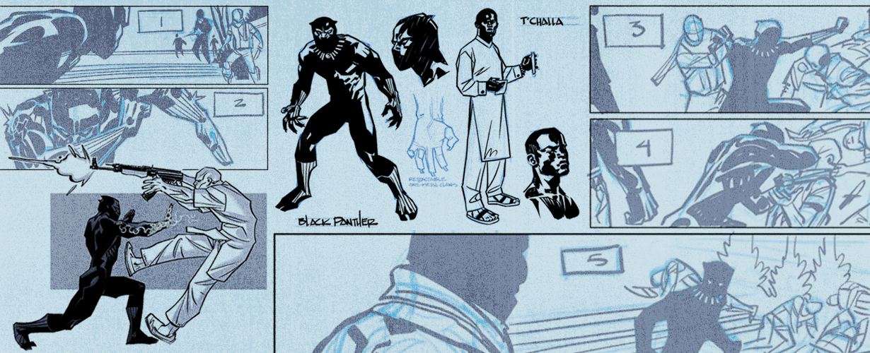 An Exclusive Look at 'Black Panther #1' by Ta-Nehisi Coates - The
