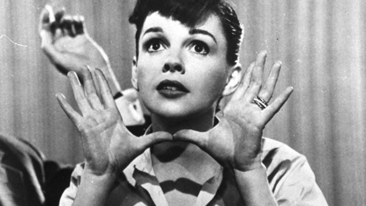 """Judy Garland in the 1954 film """"A Star is Born""""AP 63c7af819"""
